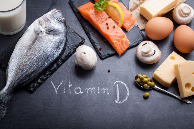 Τροφές πλούσιες σε βιταμίνη D και Ωμέγα 3.