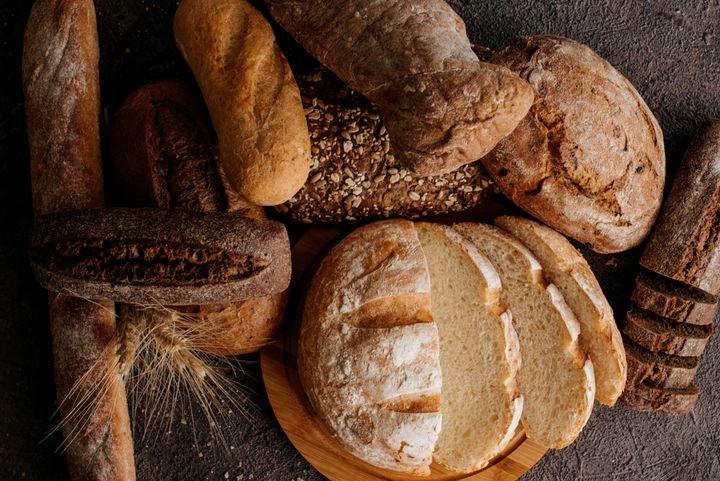 Panes de diferentes tipos