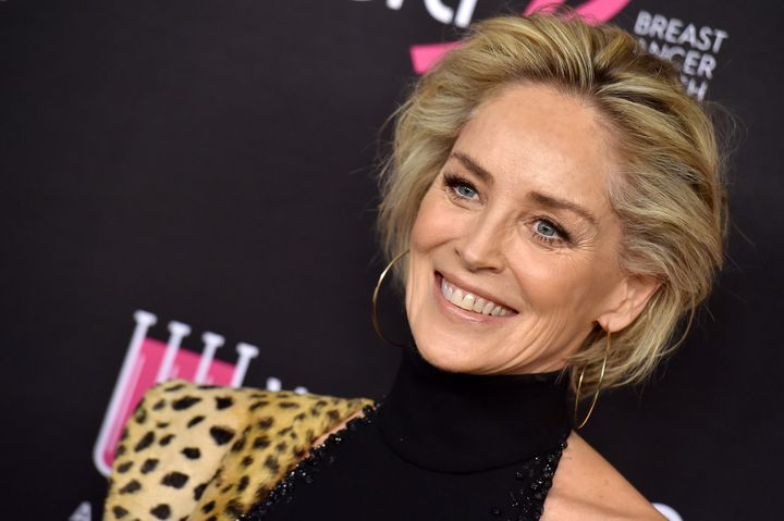 Sharon Stone says she's done dating.