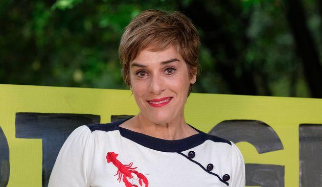 Anabel Alonso en juno de 2019 durante un acto de