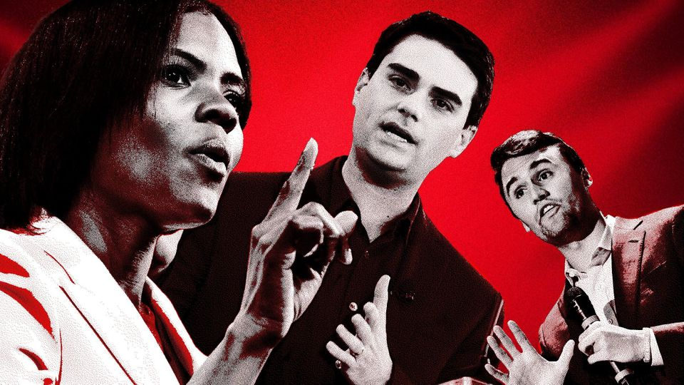 Candace Owens, Ben Shapiro and Charlie Kirk are some of the personalities who host PragerU