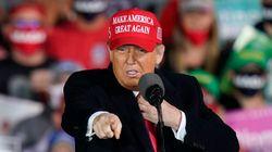 Le compte officiel de la campagne de Trump suspendu temporairement par