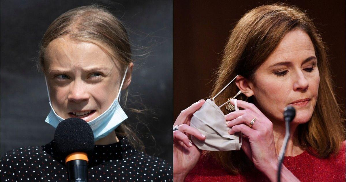 Greta Thunberg Chides Amy Coney Barrett's Weak Stance On Climate Change