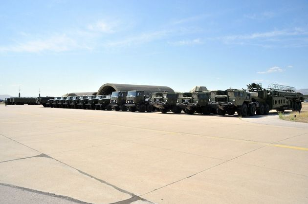 Δοκιμαστικές βολές των ρωσικών πυραύλων S-400 φέρεται να ετοιμάζει η