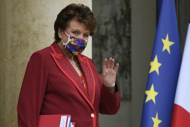 Roselyne Bachelot, ici à l'Élysée le 28 septembre 2020, s'est dit favorable à un assouplissement du couvre-feu...
