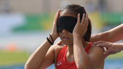 その先に、砂場はあるの?全盲のパラ日本代表、高田千明が感じた跳べない恐怖