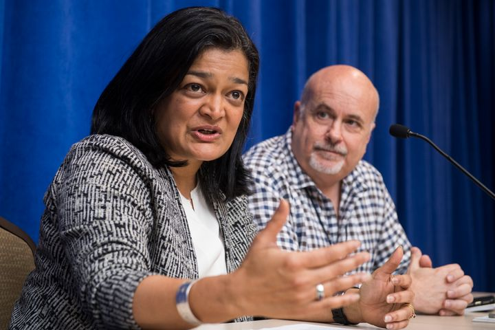 Congressional Progressive Caucus co-chairs Pramila Jayapal (Wash.) and Mark Pocan (Wis.) created a campaign program that is d