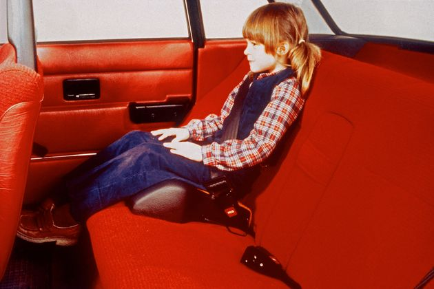 1978년 볼보자동차가 발명한 아동용 부스터