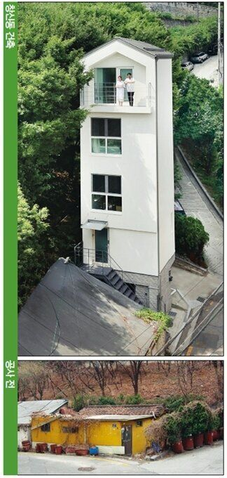 협소주택 '세로로'(Seroro) - '2020 서울시 건축상' 틈새건축 부문 우수상