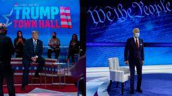 Biden y Trump se contraprograman para ocupar el espacio del debate