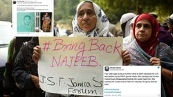 #WhereIsNajeeb? Mother Fatima Nafis Asks, Thousands On Twitter Join