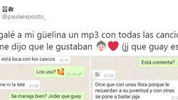 El regalo de una nieta a su abuela que arrasa en Twitter: la conversación de WhatsApp es la