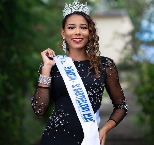 Photo officielle de Naïma Dessout élue Miss Saint-Martin - Saint-Barthélémy