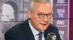 Bruno Le Maire dit