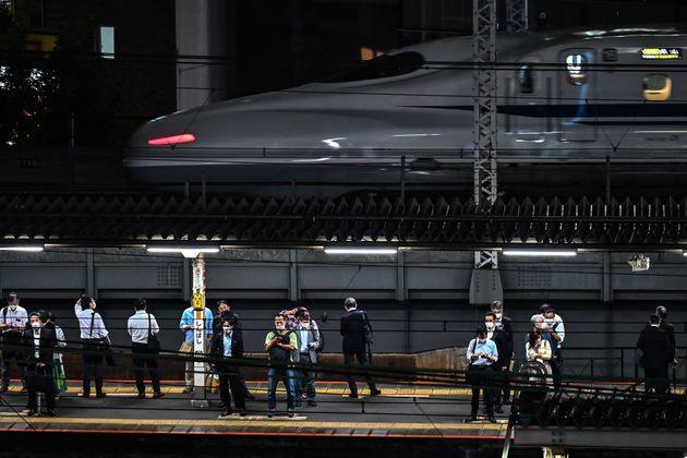 東京・新橋駅