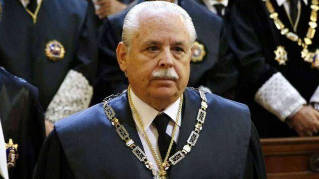 El fiscal Luis Navajas, en una imagen de