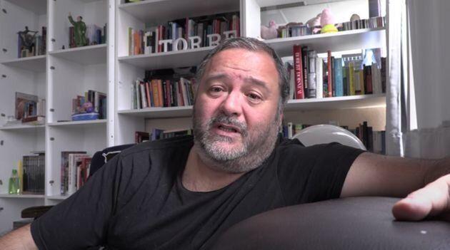 El actor y productor de cine porno Ignacio Allende Fernández, alias