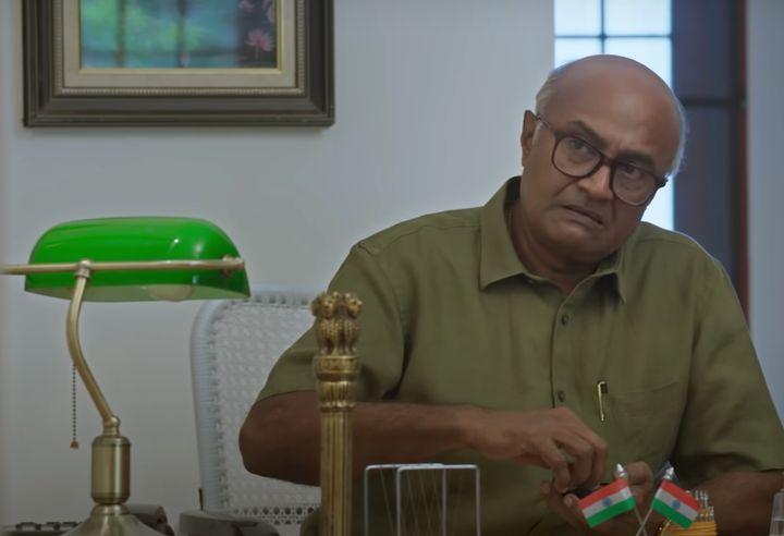 M.S. Bhaskar in a still from 'Putham Pudhu Kaalai'.