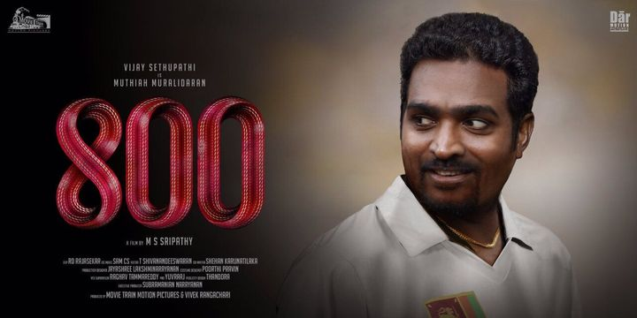 Vijay Sethupathi as Muttiah Muralitharan