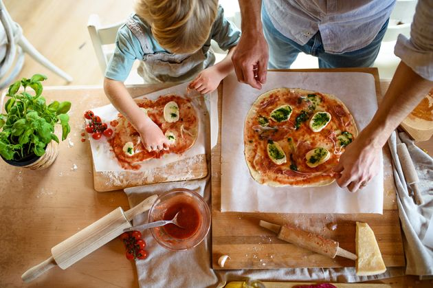 This Build-Your-Own Pizza Recipe Will Go Down Well With Kids
