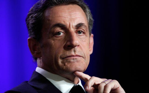 Nicolas Sarkozy, ici en 2015 à Asnières, près de Paris, a été mis...