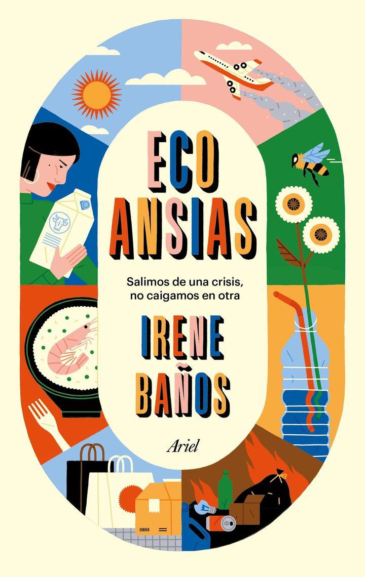 Portada de 'Ecoansias', de Irene Baños.