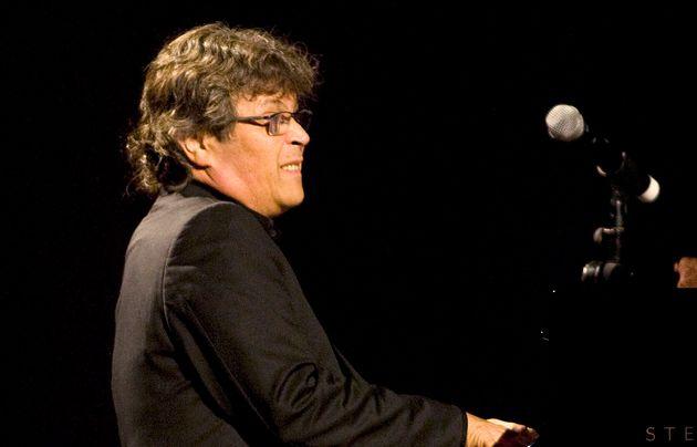 El músico Chano Domínguez durante un