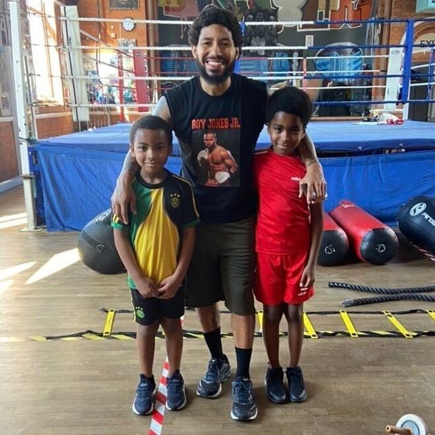 This British Boxing Champion Is Teaching Kids To Fight To Help Them De-Stress