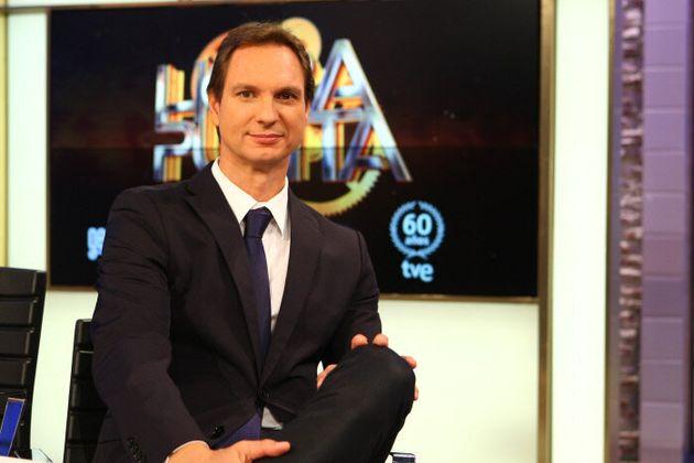 Javier Cárdenas, en su etapa en