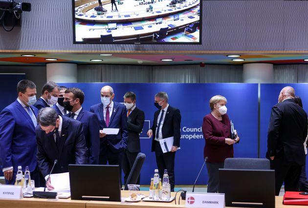 Σύνοδος Κορυφής: Η ΕΕ «εκφράζει έντονη αποδοκιμασία» για τις τουρκικές προκλήσεις- τον Δεκέμβριο οι