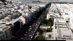 Με βίντεο από drone απαντά ο Χρυσοχοΐδης στον «χαμό» για τα επεισόδια στο