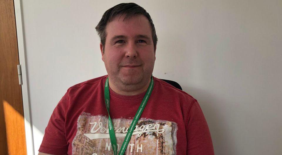 Paul Barron, energy advisor at the Macmillan support line