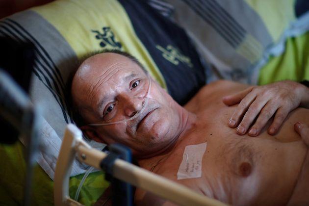 Alain Cocq, 57 ans, milite pour avoir droit à une fin de vie