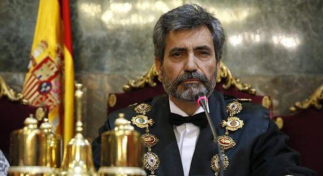 Carlos Lesmes, presidente del Consejo General del Poder