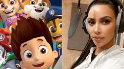Kim Kardashian Is Starring In A 'PAW Patrol'
