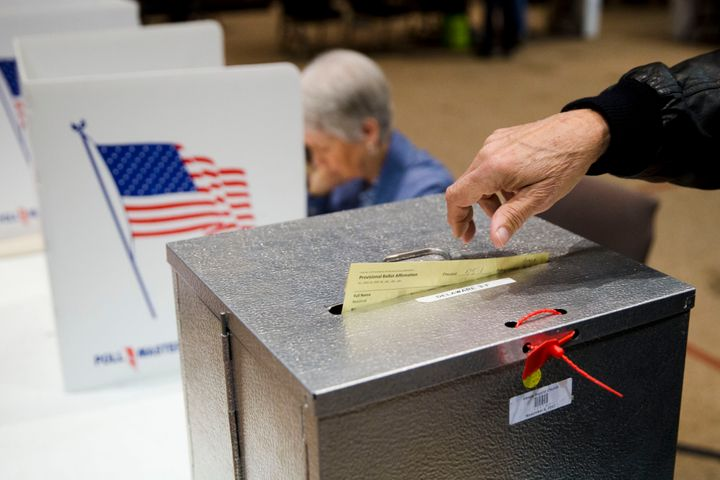 Voters are given a provisional ballot when their voter eligibility is in question.