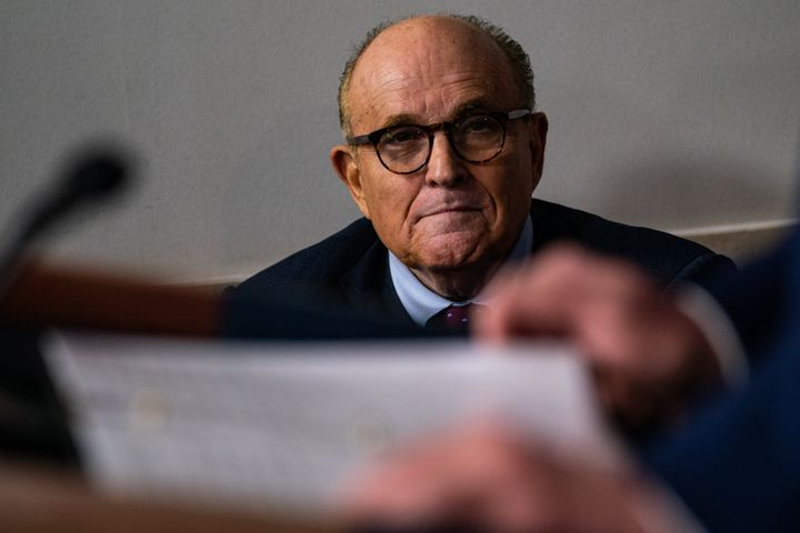 Former New York City Mayor Rudy Giuliani gave the New York Post a hard drive that allegedly contained Hunter Biden's emails.