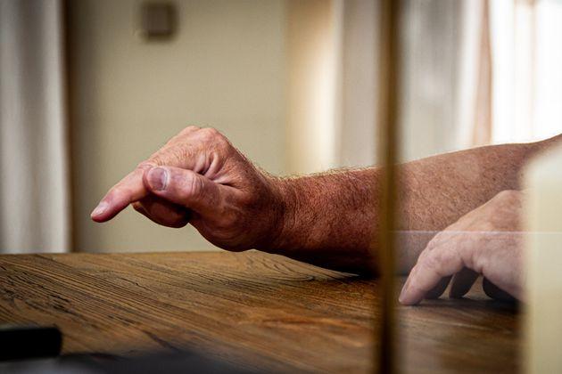 Detalle de las manos de