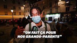 À Paris, la première nuit de couvre-feu