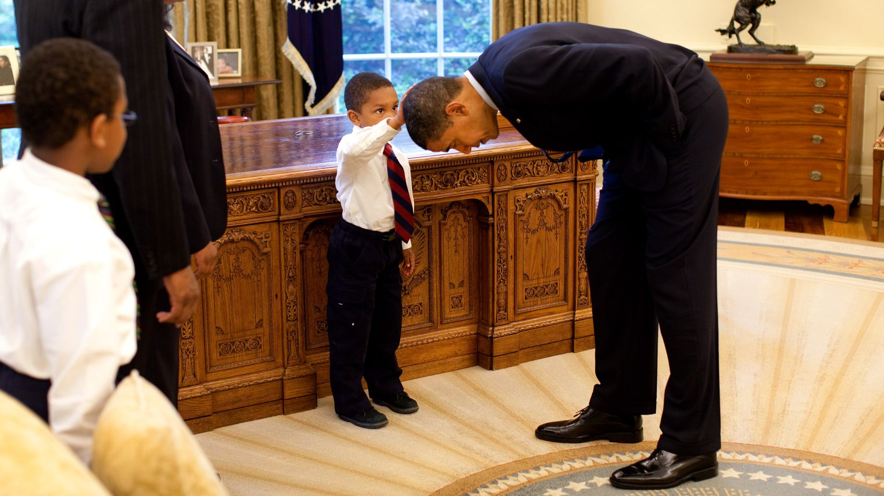 A World Away From Trump: Obama Photog Triggers The Tears In Documentary