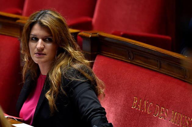 Marlène Schiappa, ministre déléguée à la Citoyenneté, à...