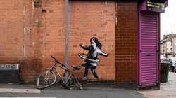 Banksy Claims New Nottingham Mural Of Hula-Hooping