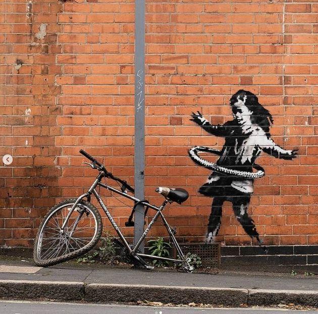 Banksy//Instagram