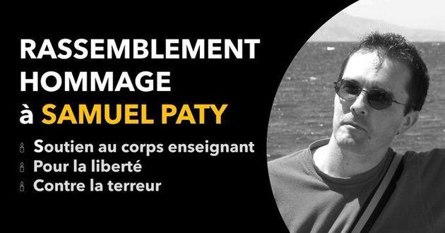 Samuel Paty: un rassemblement place de la République à Paris proposé par  des profs et des assos | Le HuffPost