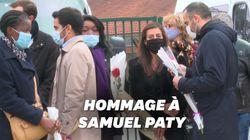 À Conflans-Sainte-Honorine, élèves et riverains rendent hommage à