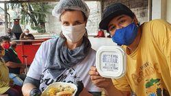 Chefs de cozinha renomados fazem 'marmitaço' contra a fome no país durante a