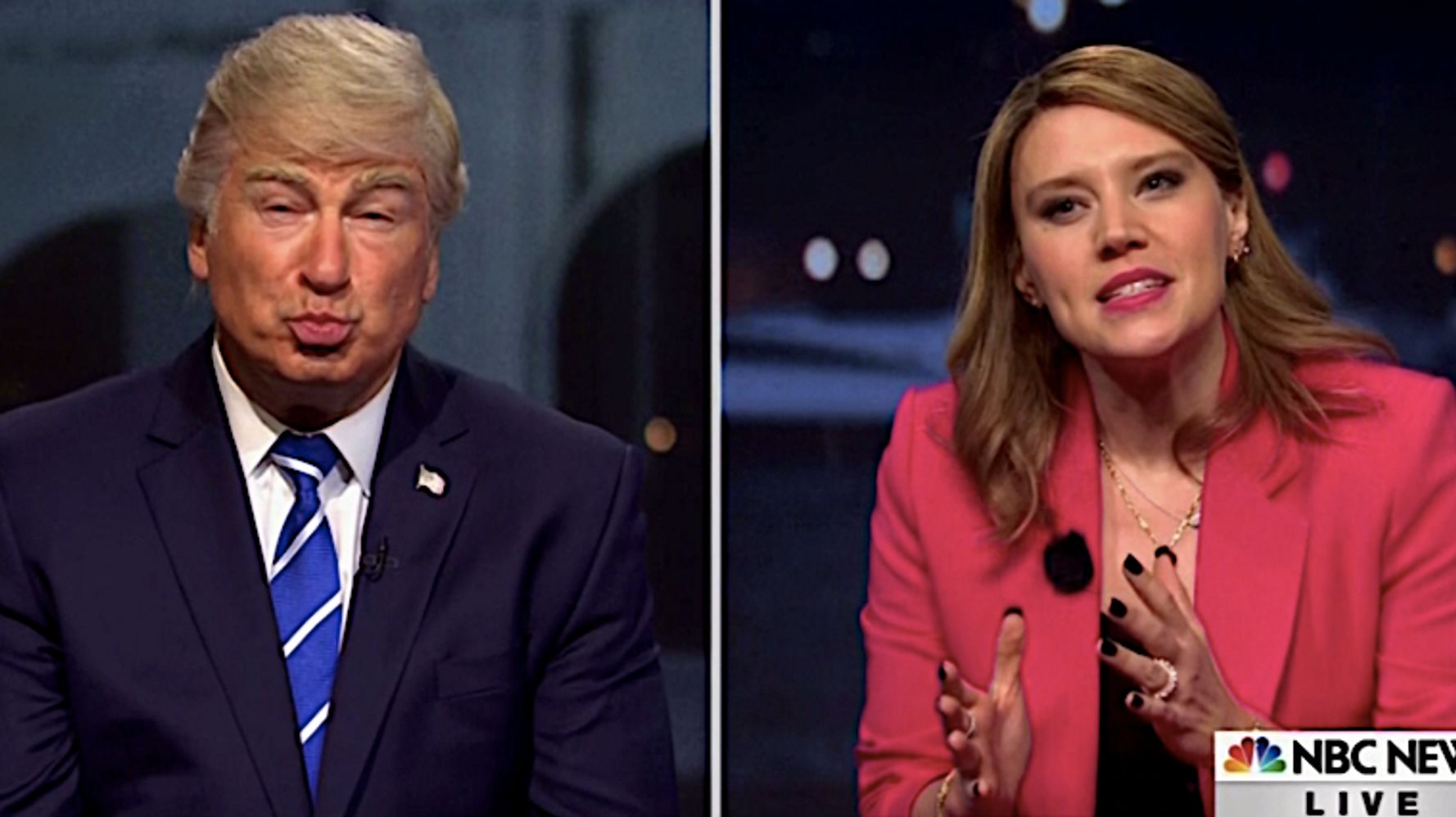 Kate McKinnon's Savannah Guthrie Goes In For The Kill At 'Trump' Town Hall On 'SNL'
