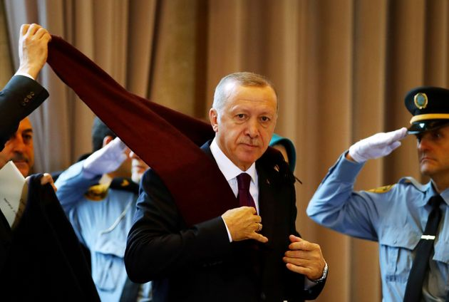 O Ερντογάν θέλει να έχει...