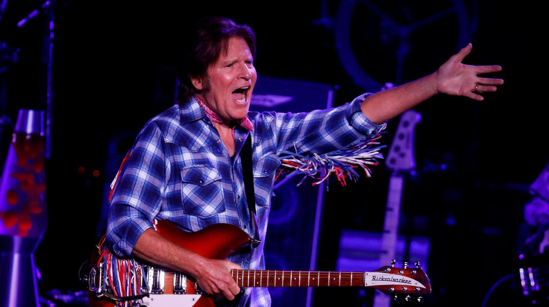 Angry 'Fortunate Son' Rocker John Fogerty Hitting Trump With Cease And Desist Order