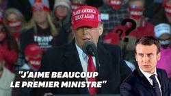 Trump rétrograde Macron au rang de